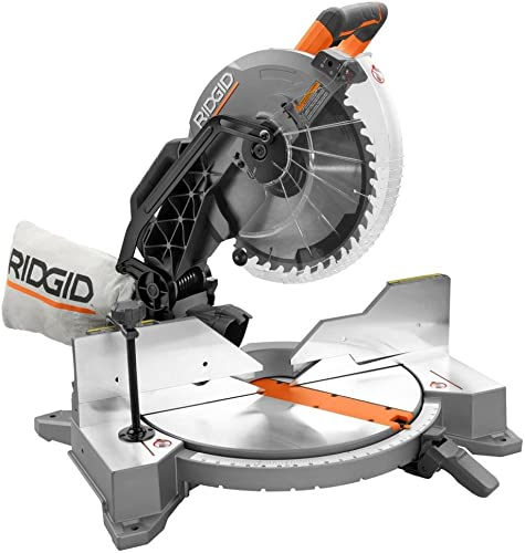 Ridgid ZRR4122 12 in. Dual Bevel Compound Miter Saw with Laserguide Renewed
