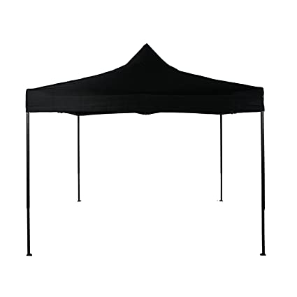 newest 2021e f16ab American Phoenix 10x10 Pop up Tent Ez Instant Canopy Commercial Outdoor  Party Canopy Shelter (Black)