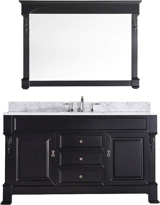 Virtu Usa Gs 4060 Wmro Dw Huntshire 60 Inch Single Sink Bathroom