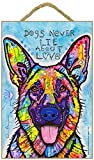 (SJT78209) German Shepherd - Dogs never lie about love 7