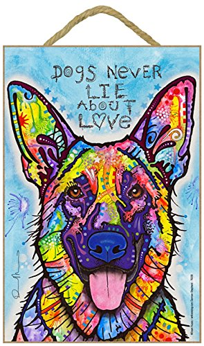 SJT ENTERPRISES, INC. German Shepherd - Dogs Never Lie About Love 7