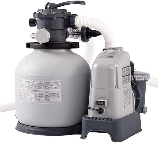 Intex 28676 - Combo depuradora de arena + cloracion salina ECO 7 ...