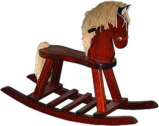 product image for Furniture Barn USA Child's Flat Seat Oak Rocking Horse