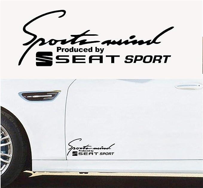 Wandtattoo Wohnzimmer Auto Aufkleber Auto Aufkleber Pair Sports Mind Produziert Von Seat Sport Body Panel Aufkleber Set Mit 2 Aufklebern 30cm Baumarkt