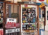 1000 piece puzzles corvette - Colorluxe 1000 Piece Puzzle - Route 66 Memorabilia