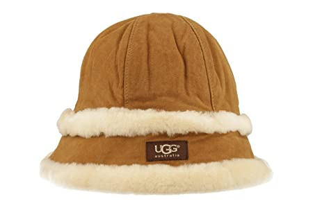 5d304c81711dd UGG CAP U1723A-000003 CHE CHESTNUT BROWN size S M  Amazon.co.uk ...