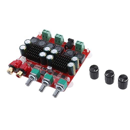 D DOLITY Tablero Digital de Amplificador de Potencia de Audio Eficiencia, Repuestos de Mejoramiento para Sistema del Audio de Altavoces: Amazon.es: ...