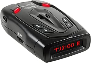 Whistler LR-300GP Laser Radar Detector with Internal GPS and 360 Degree Max Coverage