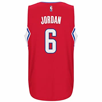 innovative design e4922 66360 Amazon.com : adidas Deandre Jordan Los Angeles Clippers ...