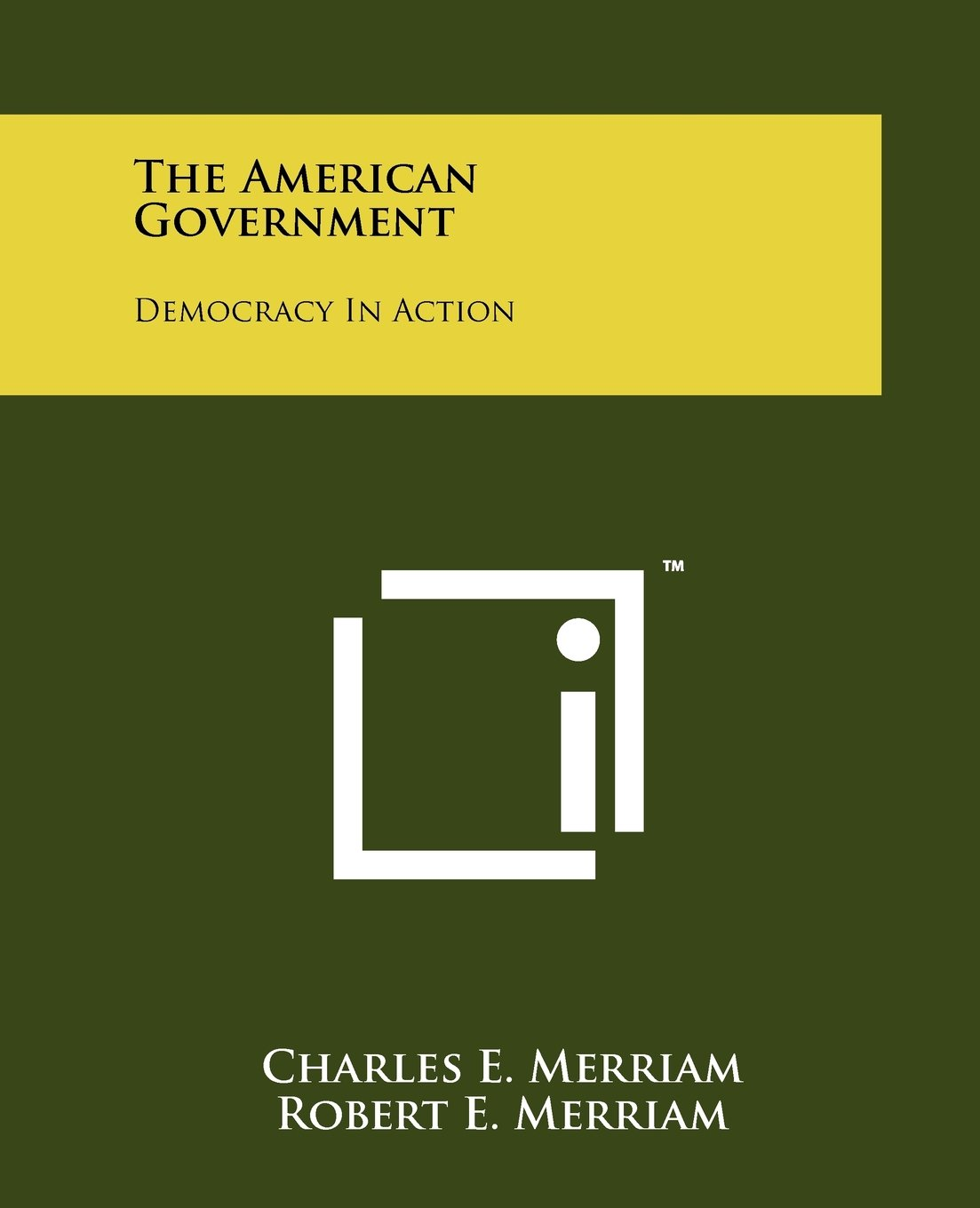The American Government: Democracy In Action ebook