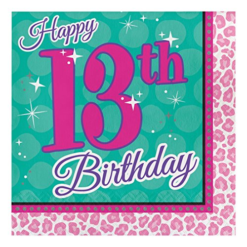 Creative Converting 317275 Napkins Birthday
