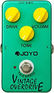 JOYO JF-01 Vintage Overdrive Guitar Effect Pedal with True Bypass