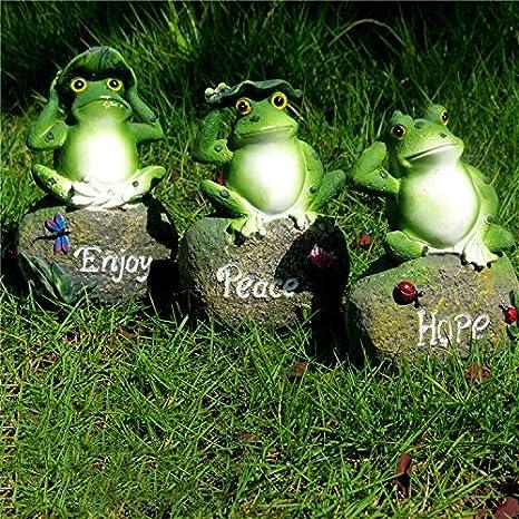 Attirant CoolPlus Frog Garden Decor Statue, Outdoor Lawn Ornaments And Figurines, Yard  Decorations Art,