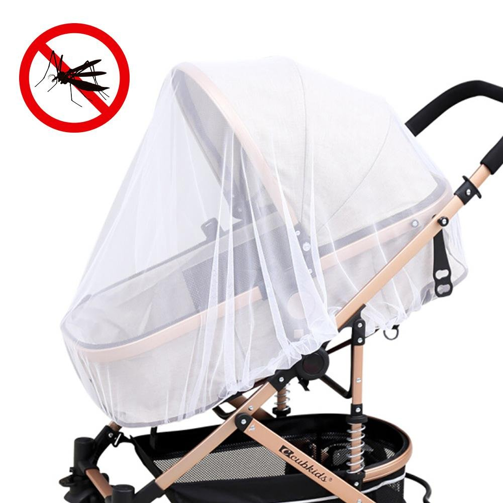 Mosquito Net for baby Strollers, Leegoal Car Seats, Bassinets and Carriers, High Density Baby Insect Netting, Ultra Fine Mesh Protection Against Mosquitoes