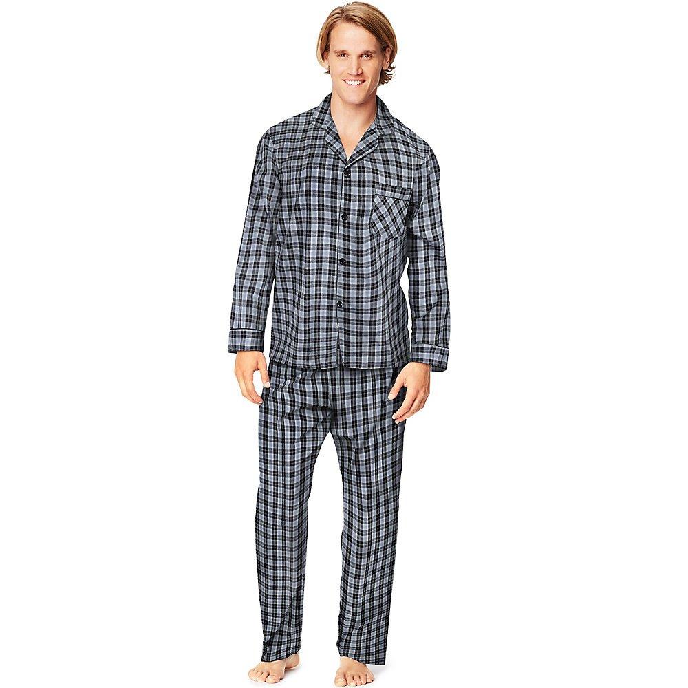 57fa9533fc05 Hanes Mens Woven Pajamas at Amazon Men s Clothing store