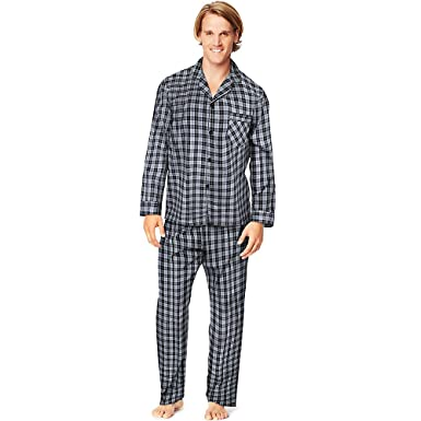 f545230beaab Hanes Men s Woven Pajamas at Amazon Men s Clothing store