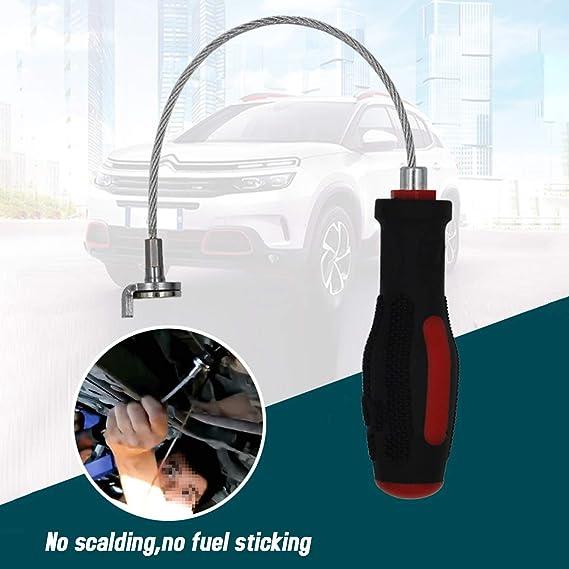 Leepesx Magnetische /Ölablassschraube Remover Getriebeschraube Demontageschl/üssel