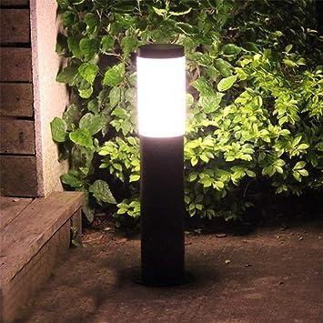 LHY LIGHT Farola de Exterior, luz de Pilar de jardín de acrílico Luz de Paisaje de Camino de Patio de Villa al Aire Libre, 60 cm: Amazon.es: Deportes y aire libre