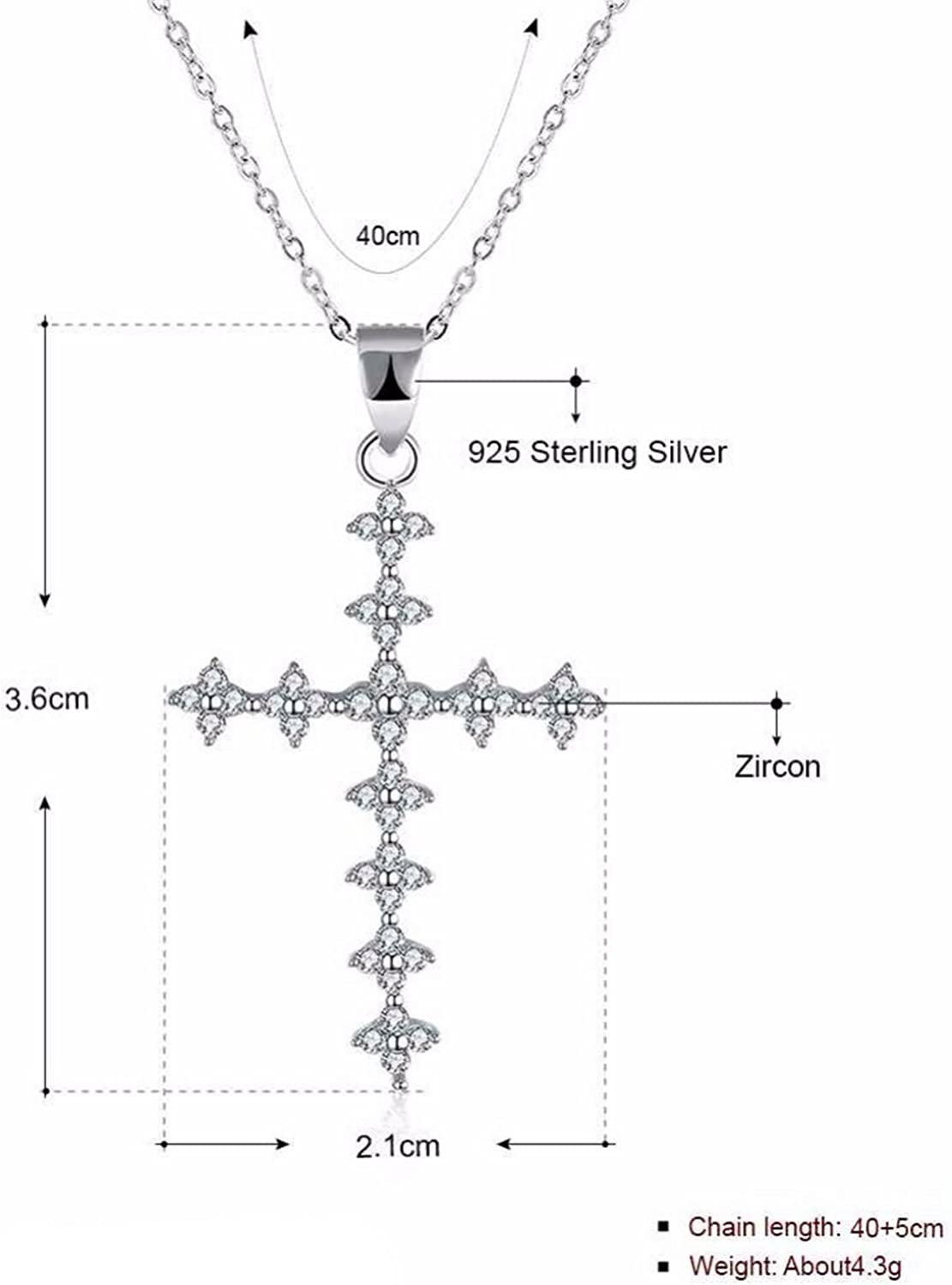 MMC Cubic Zircon Stone Silver Pendants Necklaces