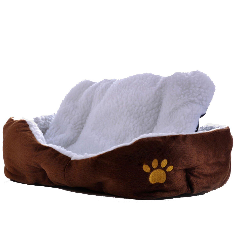 Gosear Amortiguador suave mascota Pad gato cuna cama Mat café para dormir: Amazon.es: Hogar