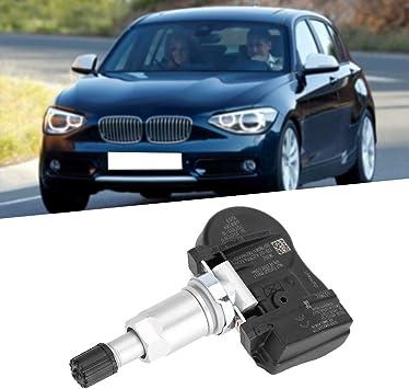 StepWorlf Sensore di pressione dei pneumatici Rilevatore monitor Pneumatici TPMS interno compatibile con BMW OE OEM 36106881891 4 pezzi MA2153