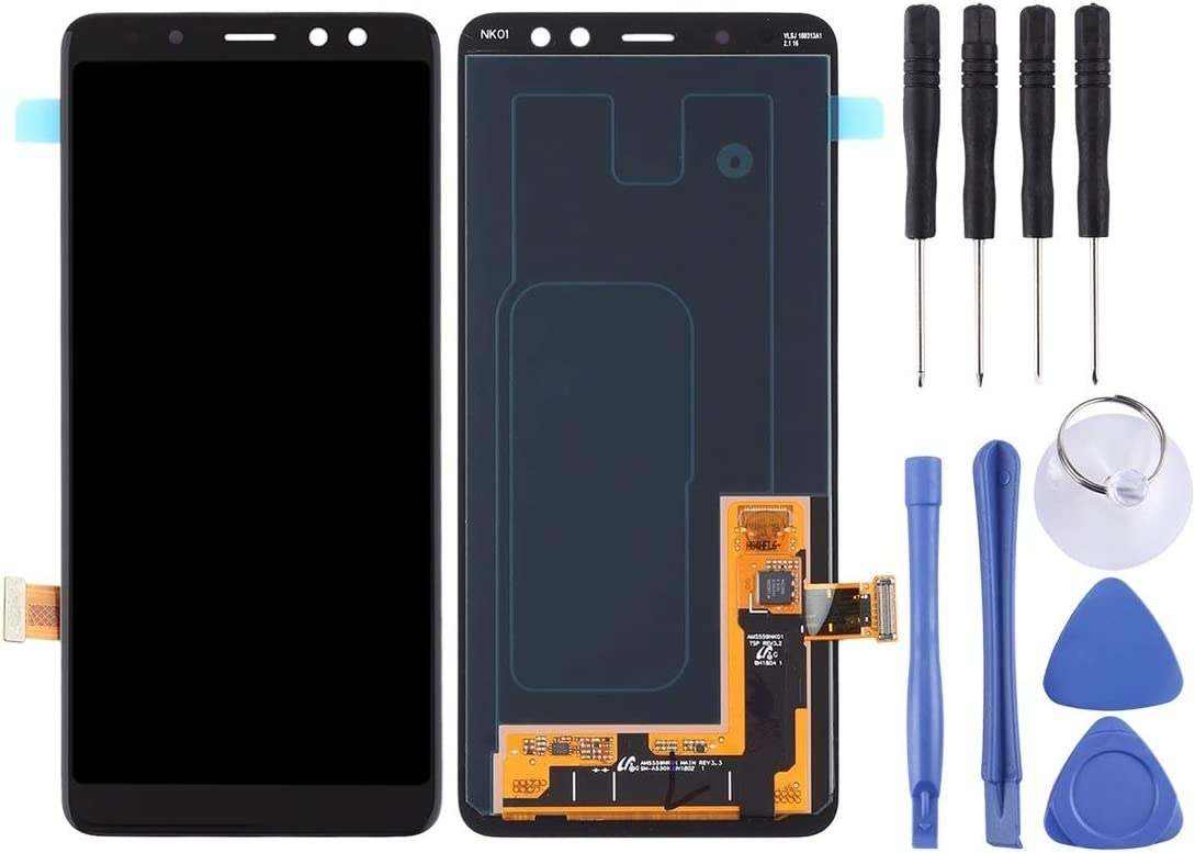 2018 // A530 Black 2018 MAYOFO Good Quality.LCD Screen and Digitizer Full Assembly for Galaxy A8 Color : Black // A5