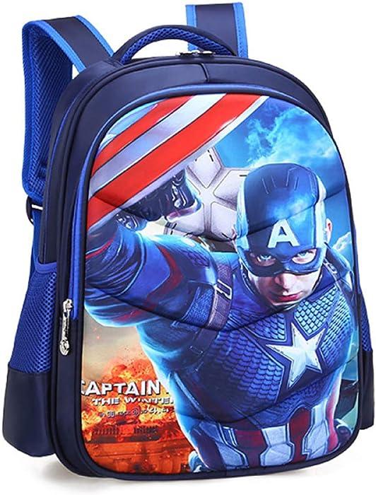 Iron Man Spiderman Captain America Mochila Escolar Para Niños Adolescentes Ligeros Mochilas Para Niños Y Niñas Bolsas Escolares De 6-15 Años