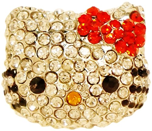 Kitty Face Rhinestone Crystal Encrusted product image