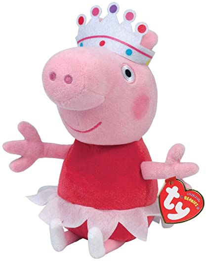 ee942f8bb69 Image Unavailable. Image not available for. Color  Ty Beanie Babies -  Ballerina Peppa Pig