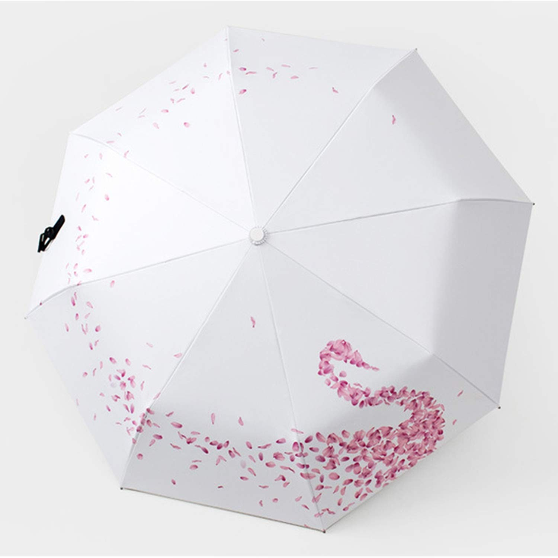 Creative Beautiful SP058 - Paraguas Plegable para Mujer, diseño de ...