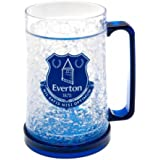 Everton FC Official Football Gift Plastic Freezer Tankard - A Great Christmas / Birthday Gift Idea For Men And Boys