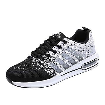 e9731dbd7b213 Bluestercool Chaussures de Course Compétition Running Sport Trail  Entraînement Multisports Homme Femme Basket Respirant Sneakers Shoes