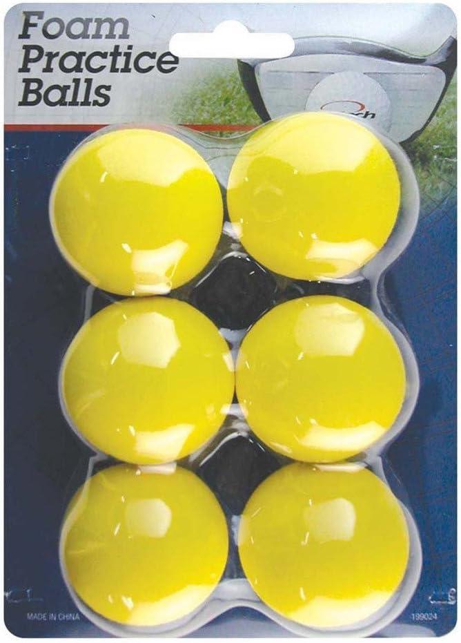 Intech Golf Foam Practice Balls, 6 Pack
