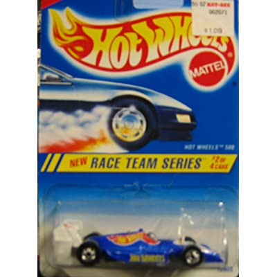 1994-1995 Hot Wheels Race Team Series 2 of 4 HOT Wheels 500 #276 Blue Card (Blue INDY CAR): Toys & Games
