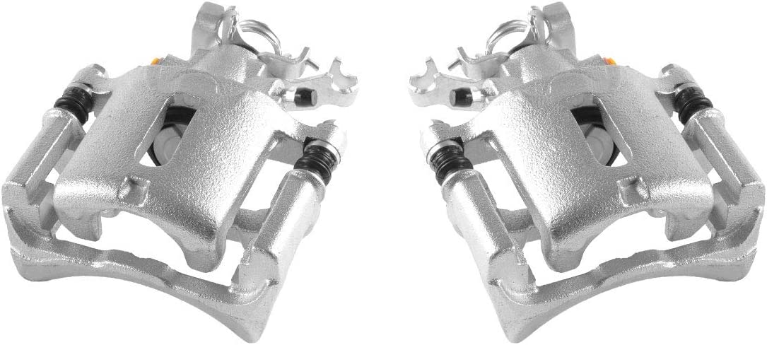 Clips REAR Powder-Coated Remanufactured Calipers fit Subaru Baja Legacy Outback 4 FRONT Callahan CCK05448