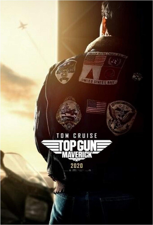 Top Gun Maverick Movie Poster Silk Canvas Poster Print 24x36 inch