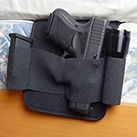 Active Pro Gear Bedside Night Defense Gun Holster | Under Mattress Gun Holder | Bed Holster