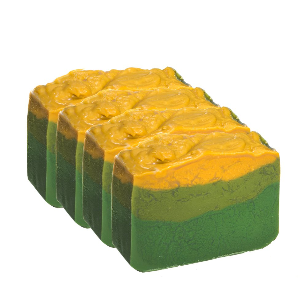 Avocado Soap Bar With Jasmine Oil - Organic With Essential Oils. Moisturizing Body Soap For Skin And Face. With Shea Butter, Coconut Oil, Glycerin 4 OZ Soap Bar Falls River Soap Company LLC