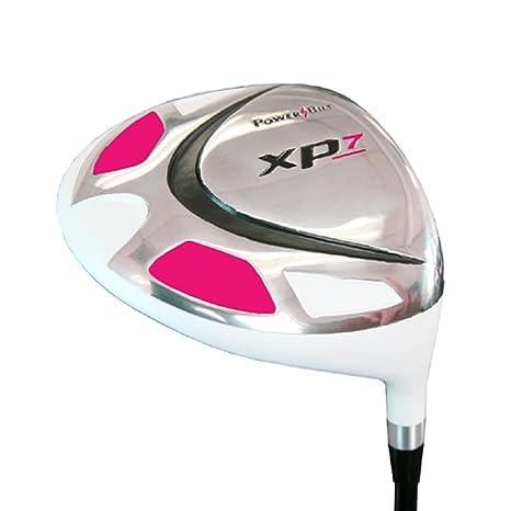Amazon.com: Powerbilt palos de golf mujer XP7 blanco ...