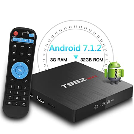 T95z Max Android Tv Box 2018 Newest 3gb Ram 32gb Rom Amazoncouk