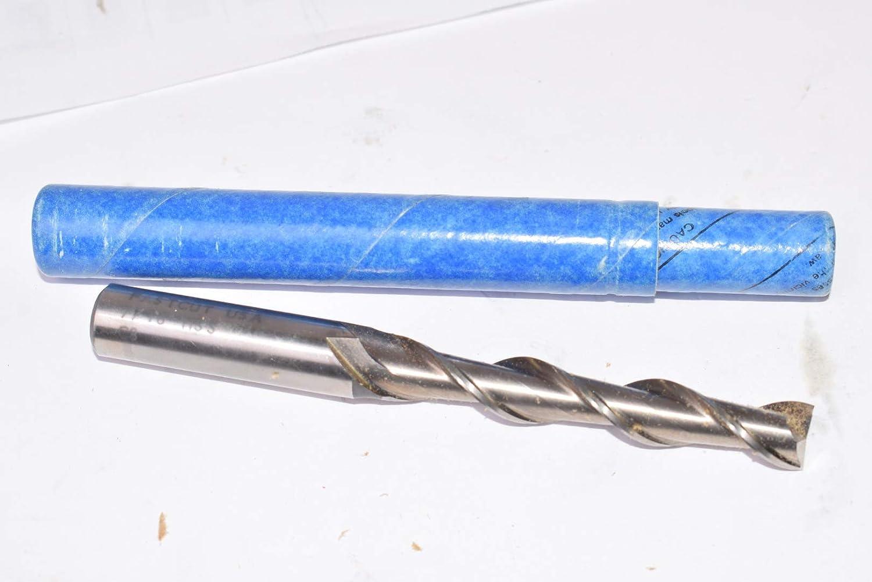New FastCut HSS 7//16 Dia 2 Flute End Mill