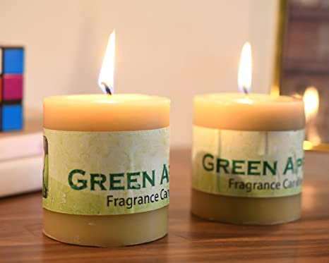 Candele Camera Da Letto : Craftvatika set di mela verde profumo mini candele profumate