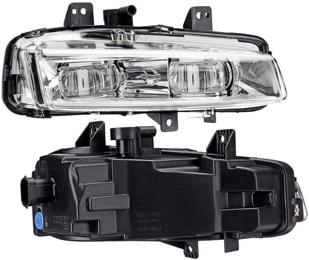 Fanuse Feu de Brouillard de Voiture Avant Gauche Droite pour Range Rover Evoque Dynamic 2011-2016 Feu de Brouillard Automatique