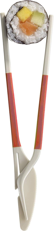 Rosso Coppia posate Twin One che funzionano anche come bacchette colore L/éku/é 2900100V10U008