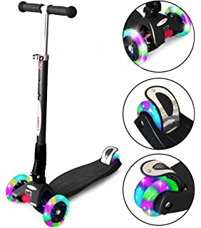 Amazon.com : Globber Primo Fantasy Lights Kids Scooter ...