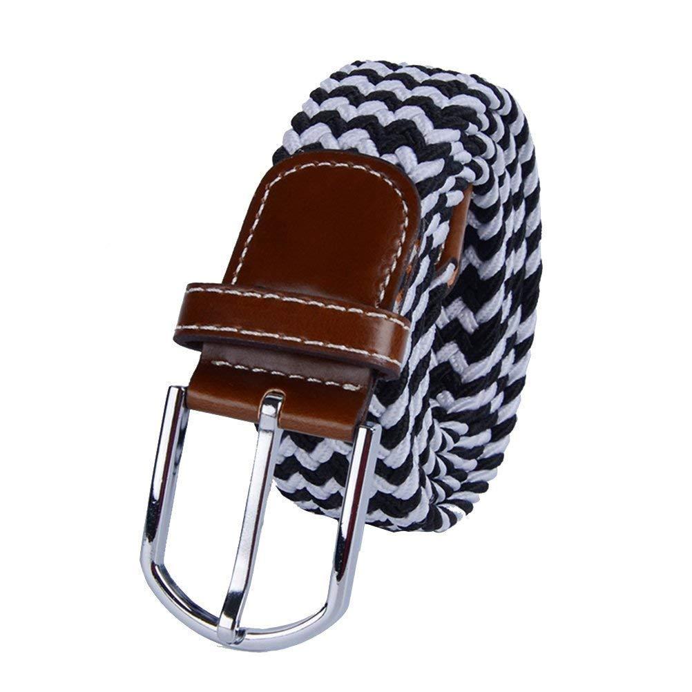 Sungpunet intrecciato cinghie elastiche in tessuto elasticizzato cintura da uomo donna