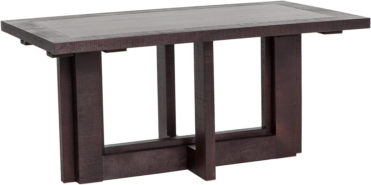 Oui Home. Mesa de Comedor Extensible Madera Color wengué: Amazon ...