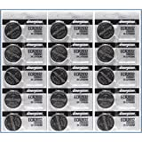 Energizer CR2032 Replacement Batteries for Cayeye, Sigma, Knog, Planet Bike & Many Others, X 15