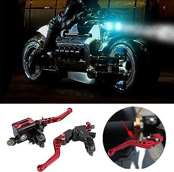 22mm Leve serbatoio universali frizione freno moto universale 1 paio 7//8 Broco Cilindro maestro freno anteriore moto