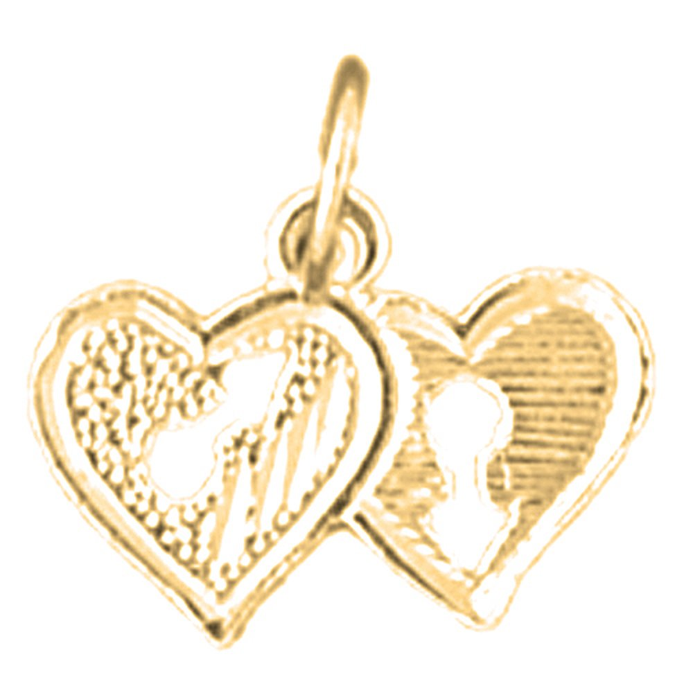 Jewels Obsession Heart Lock Necklace 14K Yellow Gold-plated 925 Silver Heart Lock Pendant with 16 Necklace